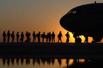 RLC Words School Trip Military Operation