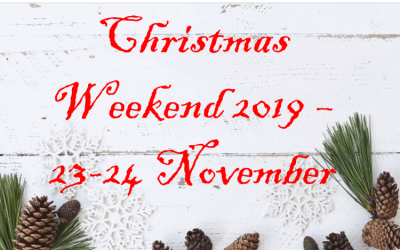 Christmas Weekend! What it is, and why…